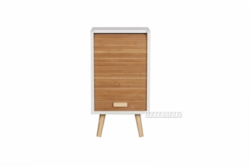 Picture of MANSFIELD 1 DOOR BAMBOO SMALL CABINET