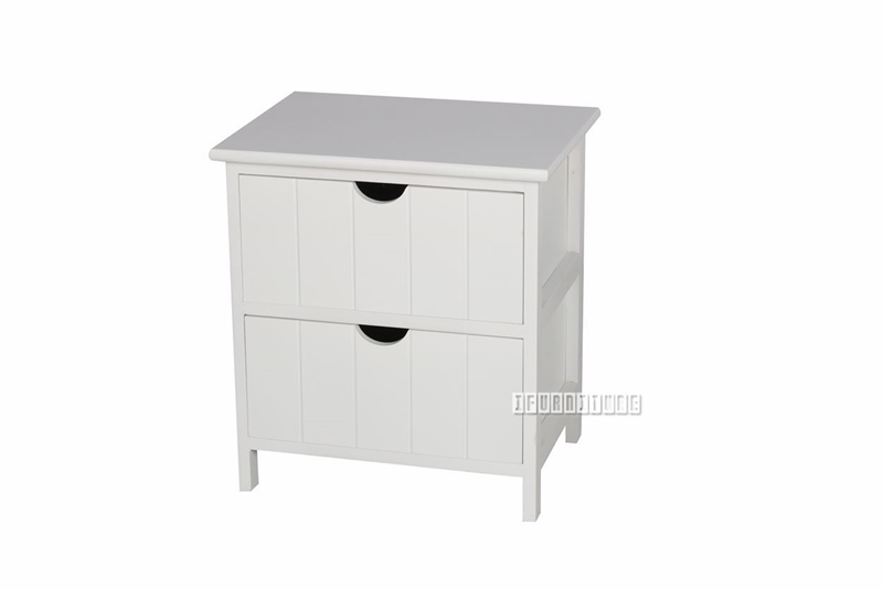 Picture of NORTON 2 DRW SMALL BEDSIDE TABLE * WHITE