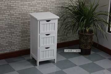 Picture of NORTON 3 DRW SMALL CABINET * WHITE