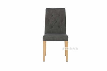 Picture of KOKAKO DINING CHAIR IN DARK GREY * STACK-ABLE