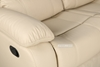 Picture of BRIGHTON RECLINING 1+ 2+3 SOFA RANGE  IN BEIGE * AIR LEATHER