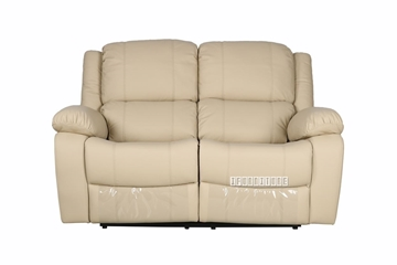 Picture of BRIGHTON Recliner  Loveseat IN BEIGE * AIR LEATHER