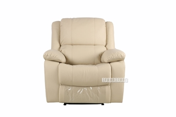 Picture of BRIGHTON Recliner  Armchair IN BEIGE * AIR LEATHER