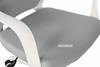 Picture of SUTTON MEDIUM BACK OFFICE CHAIR *WHITE FRAM WITH GREY FABRIC