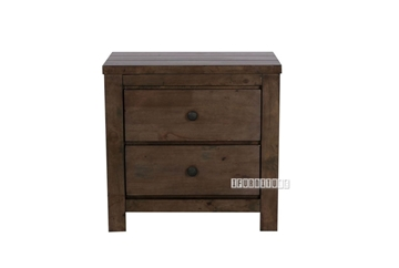 Picture of HEMSWORTH 2D nightstand *SOLID TIMBER & VENEER IN RICH