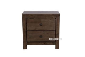 Picture of HEMSWORTH 2D nightstand *SOLID TIMBER & VENEER IN RICH