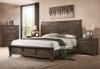 Picture of HEMSWORTH  5PC BEDROOM COMBO IN QUEEN/ KING SIZE *SOLID TIMBER & VENEER IN RICH