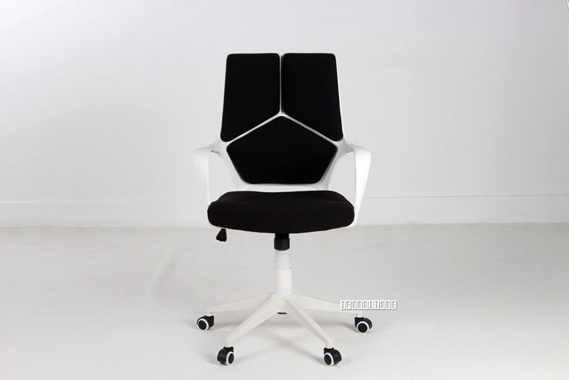Picture of SUTTON Medium Back Office Chair *Black&White