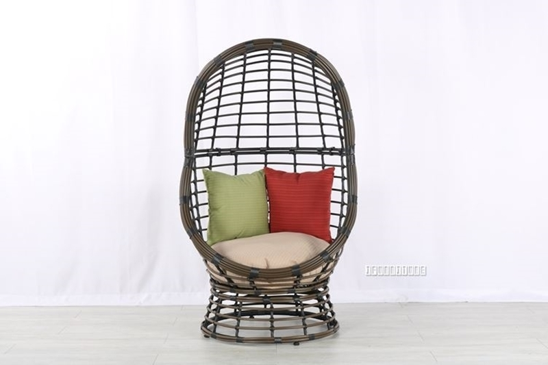 Picture of #55 OUTDOOR SWIRL EGG CHAIR