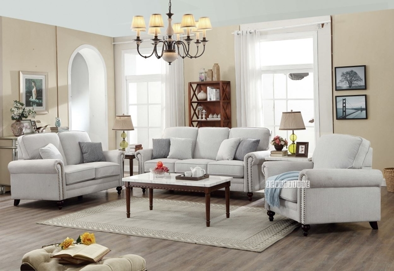 Picture of ANDOVER 1+2+3 sofa RANGE  *LIGHT GREY