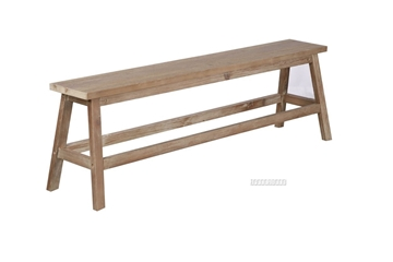 Picture of NIXON SOLID TIMBER DINING BENCH *ANTIQUE FINISH
