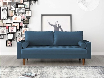 Picture of FAVERSHAM 3+2 SOFA RANGE * Prussian BLUE