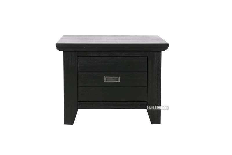 Picture of CAROL SOLID ACACIA END TABLE *BLACK