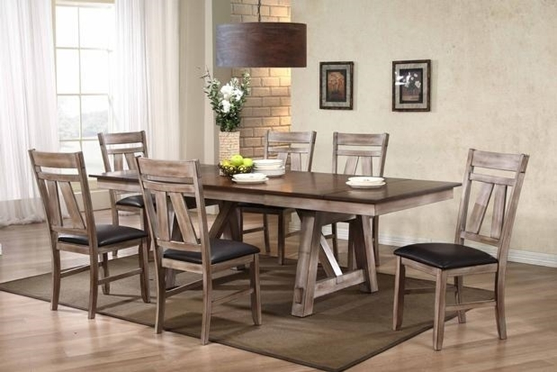 Picture of SUNRAY 7 PC DINNING SET