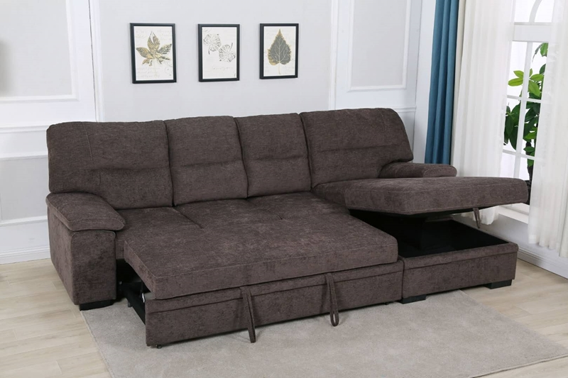 Picture of SILVIO SECTIONAL SOFA/ SOFA BED WITH STORAGE