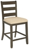 Picture of Rokane Upholstered Barstool