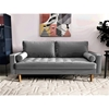 Picture of FAVERSHAM 3+2 SOFA RANGE - GREY