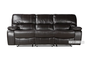 Picture of ARTHUR LeatherGel  1+2+3 RECLINING SOFA RANGE*ESPRESSO