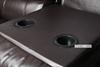 Picture of ARTHUR LeatherGel  1+2+3 RECLINING SOFA RANGE*ESPRESSO