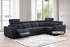 Picture of VITA L SHAPE POWER RECLINING SOFA *DARK
