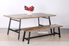 """Picture of BARBADOS RECLAIMED TIMBER 75"""" DINING TABLE"""