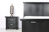 Picture of CAROL SOLID ACACIA 3PC BEDROOM COMBO IN DOUBLE/QUEEN/ KING SIZE *BLACK