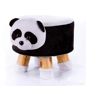 Picture of PLUSH ANIMAL FOOT STOOL - PANDA