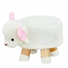 Picture of PLUSH ANIMAL FOOT STOOL - SHEEP