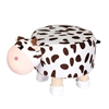 Picture of PLUSH ANIMAL FOOT STOOL -COW