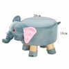 Picture of PLUSH ANIMAL FOOT STOOL - ELEPHANT