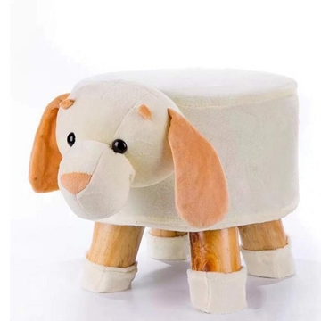 Picture of PLUSH ANIMAL FOOT STOOL - PUPPY