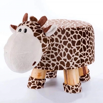 Picture of PLUSH ANIMAL FOOT STOOL - GIRAFFE