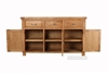 Picture of WESTMINSTER 3DR 3DRW BUFFET/SIDEBOARD *SOLID OAK
