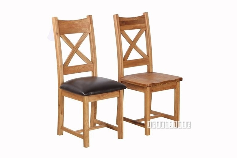 Picture of WESTMINSTER DINING CHAIR PU/TIMBER SEAT *SOLID OAK