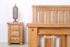 Picture of WESTMINSTER 3DRW NIGHTSTAND *SOLID OAK