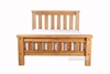 Picture of WESTMINSTER BED IN QUEEN/KING SIZE *SOLID OAK