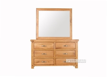 Picture of WESTMINSTER Dresser WITH MIRROR*SOLID OAK