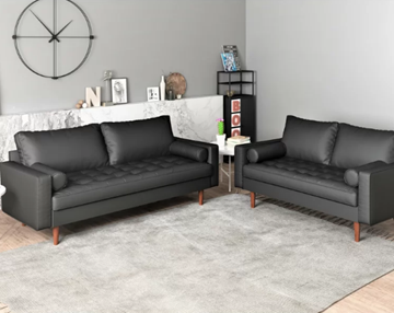 Picture of Faversham 3+2 Sofa Range * BLACK