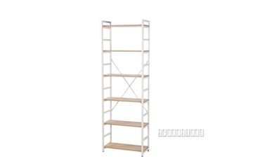 Picture of CITY 182 NARROW BOOKSHELF *WHITE