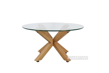 Picture of POLO GLASS 80 ROUND COFFEE TABLE