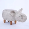 Picture of BIG Hardwood ELEPHANT Ottoman