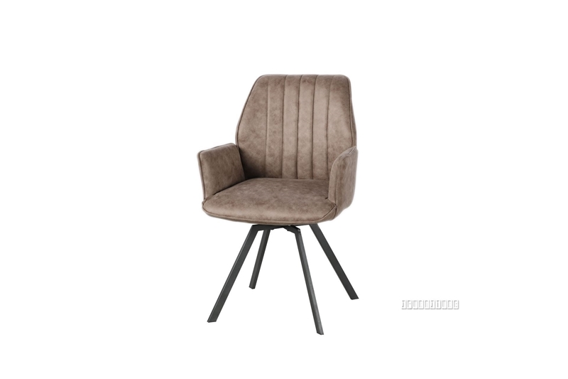 Picture of GALLOP DINING CHAIR WITH ARMS *SWIRL