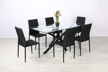 Picture of STUTTGART 160 7PC DINING SET