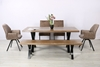 Picture of GALLOP 180 DINING TABLE *LIVE EDGE* DARK