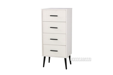 Picture of PARIS 4DRW SLIM CHEST *SOLID PINE
