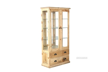 Picture of OUTBACK 180 DISPLAY CABINET *SOLID PINE