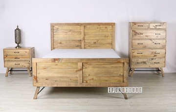 Picture of CLIFTON 3PC COMBO IN QUEEN SIZE *SOLID PINE