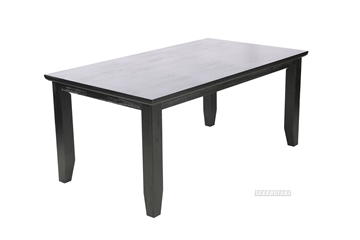 Picture of CAROL SOLID ACACIA 180 DINING TABLE *BLACK