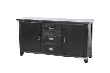 Picture of CAROL SOLID ACACIA SIDEBOARD *BLACK
