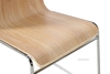Picture of CURVE BENT WOOD CHAIR *STACKABLE